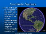 coordinate systems5