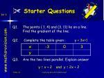 starter questions27