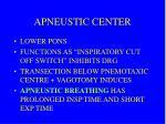 apneustic center