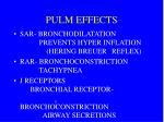 pulm effects
