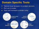 domain specific tools