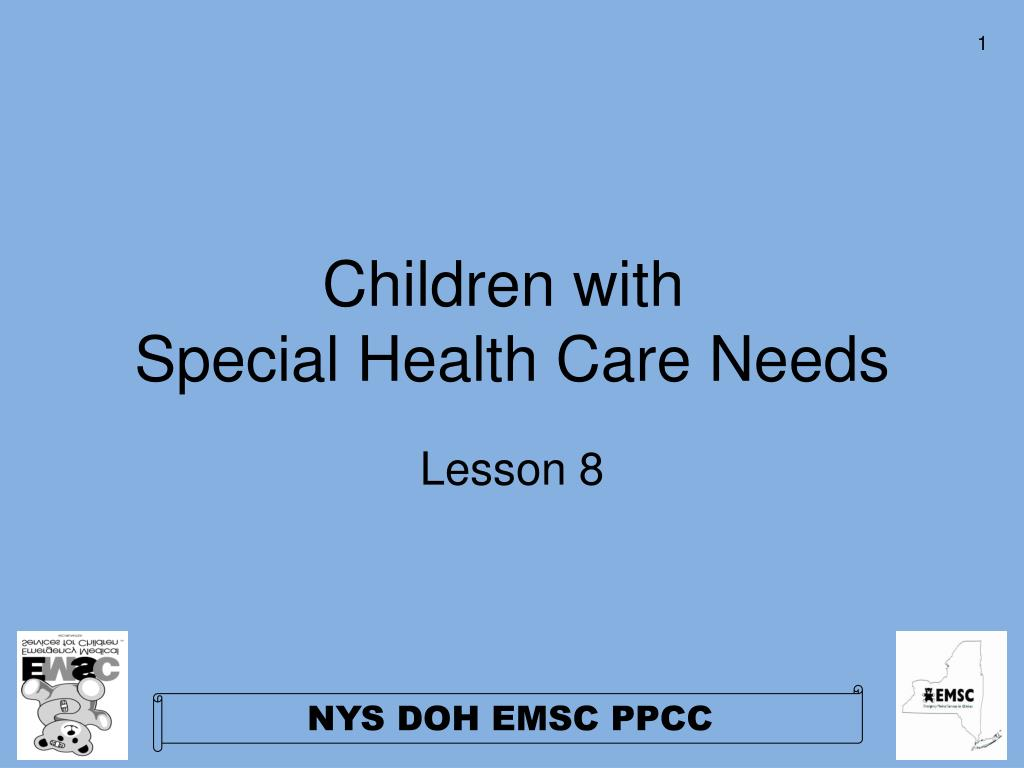 children with special health care needs l.