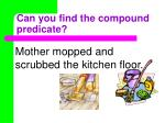 can you find the compound predicate