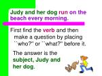 judy and her dog run on the beach every morning4