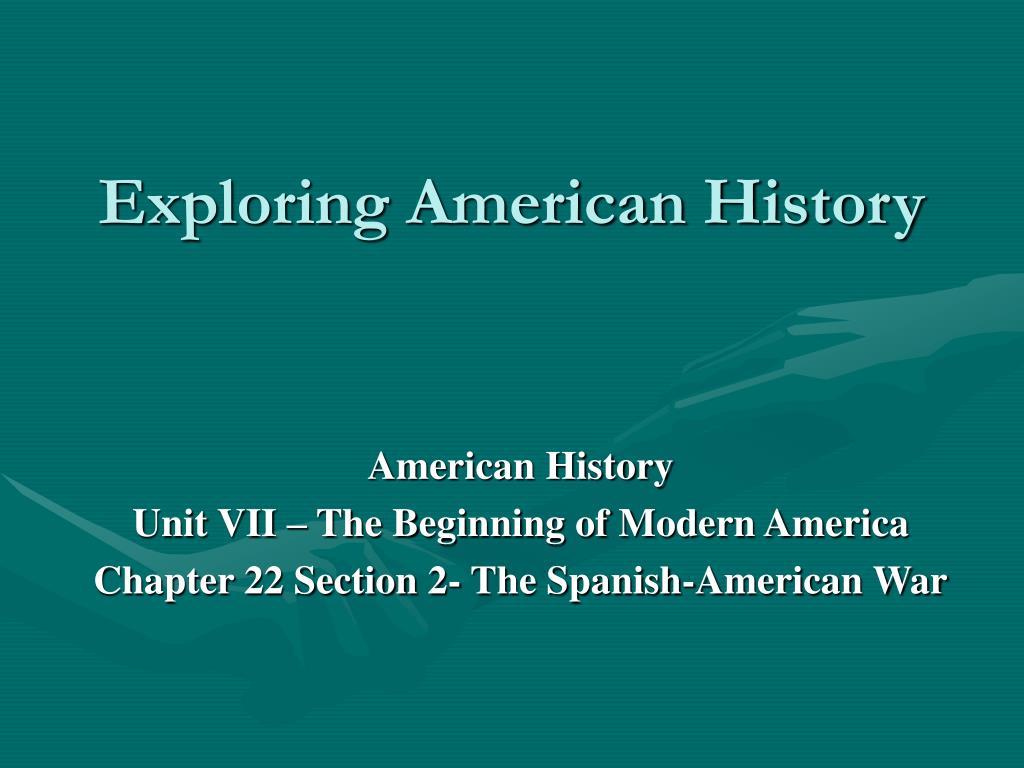 exploring american history l.