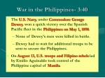 war in the philippines 3 40