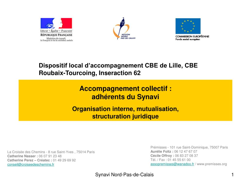 Accompagnement collectif :