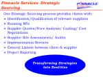 pinnacle services strategic sourcing