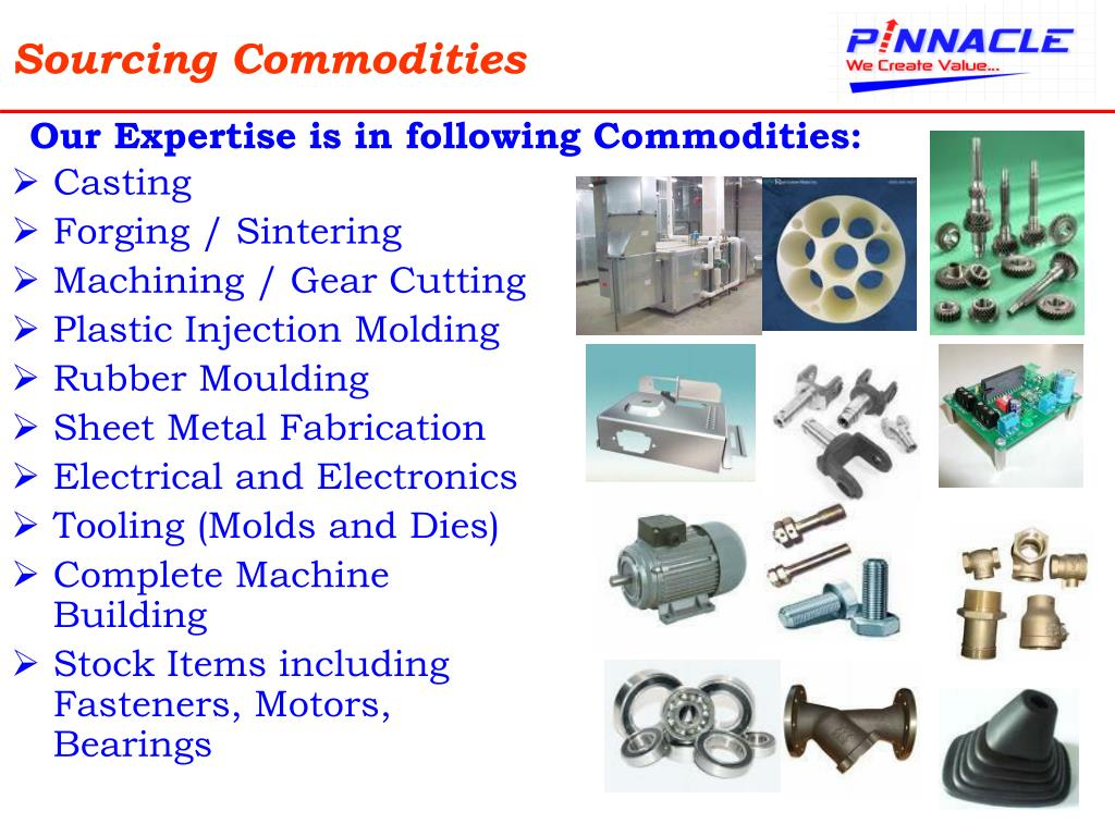 Sourcing Commodities