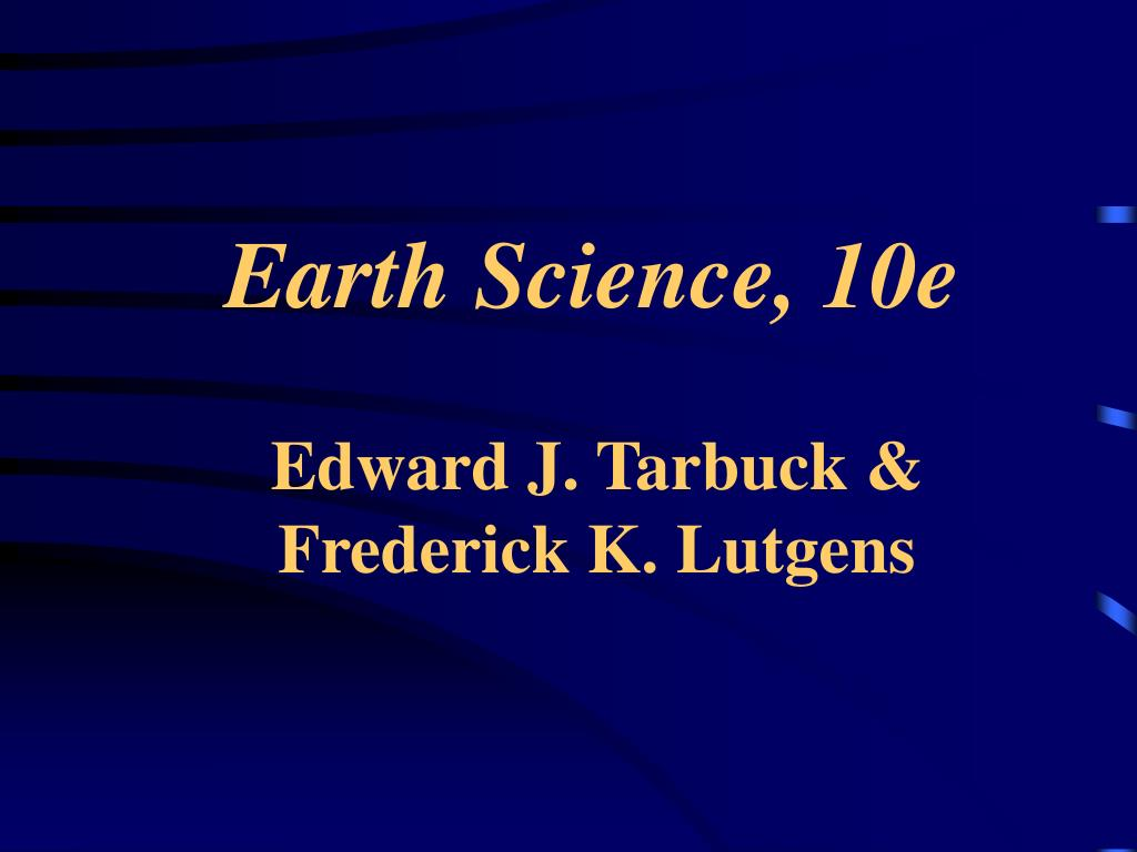 earth science 10e l.