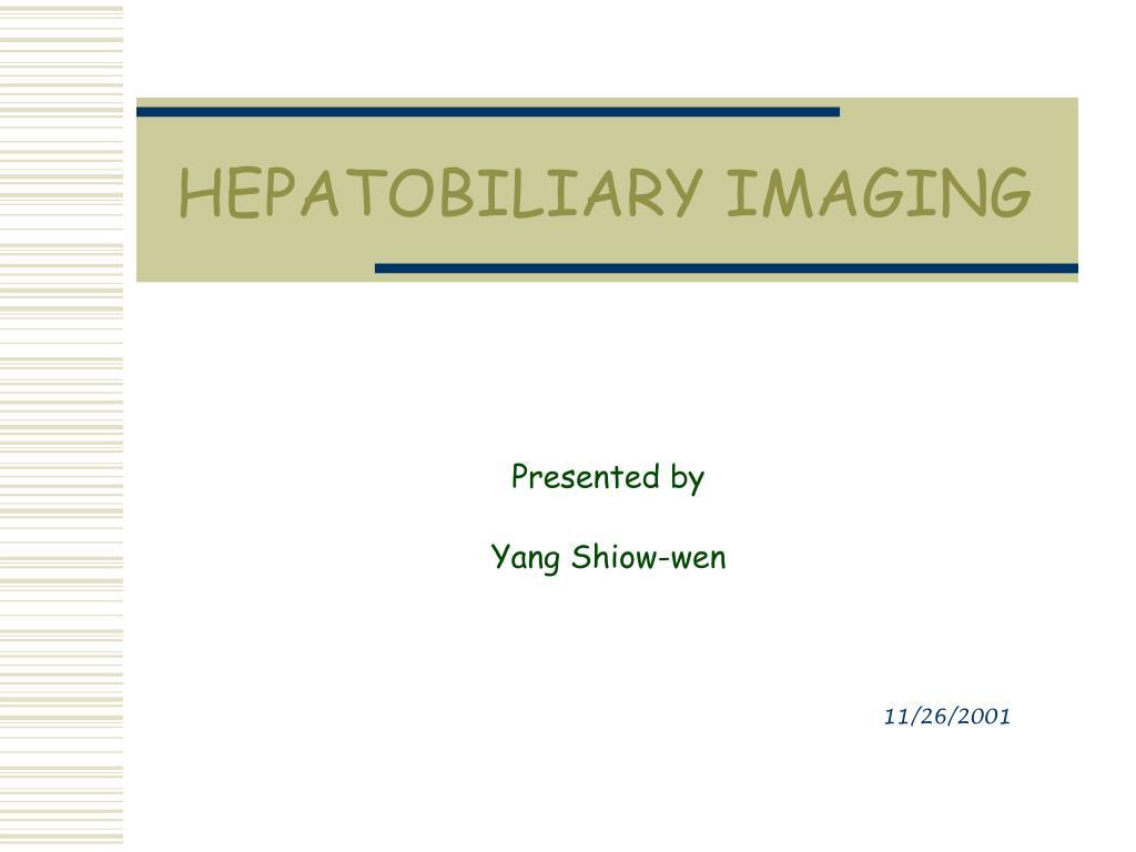 hepatobiliary imaging l.