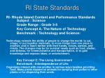 ri state standards