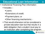 educational loan information1