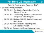 for more ge information3