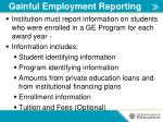 gainful employment reporting1