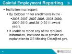 gainful employment reporting2