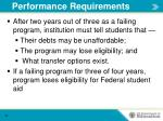 performance requirements2