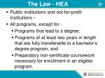 the law hea2