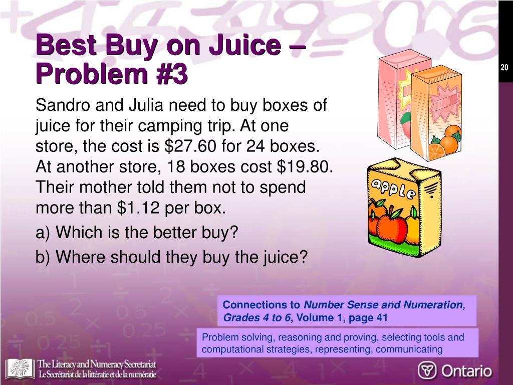 Best Buy on Juice –