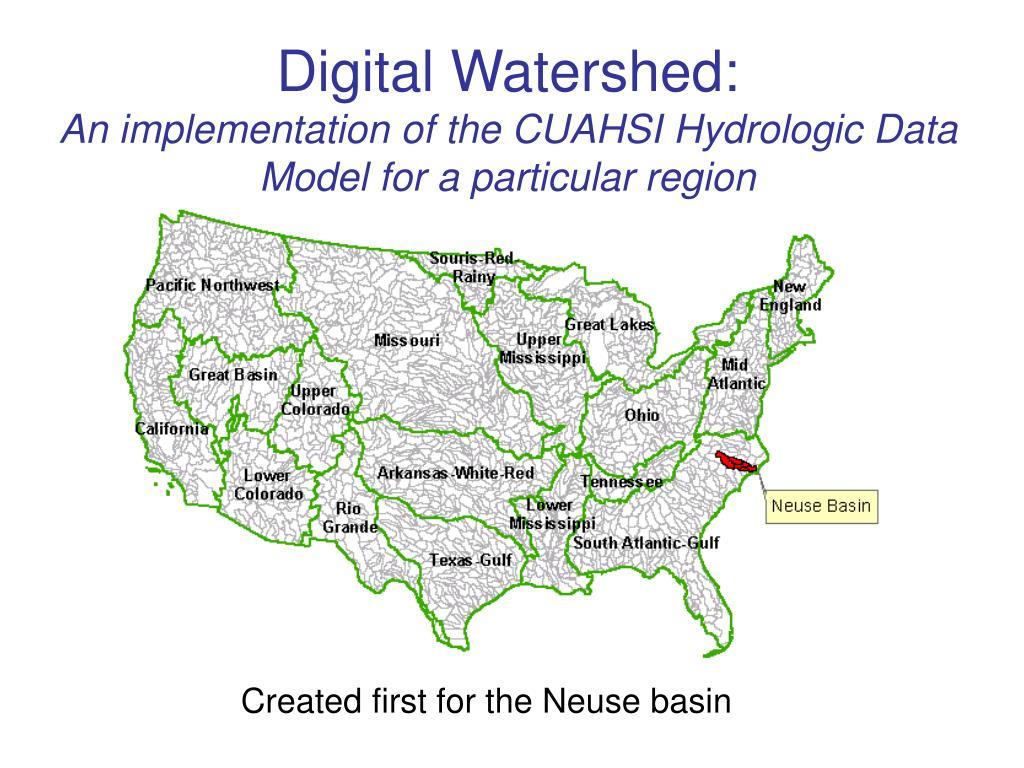 Digital Watershed: