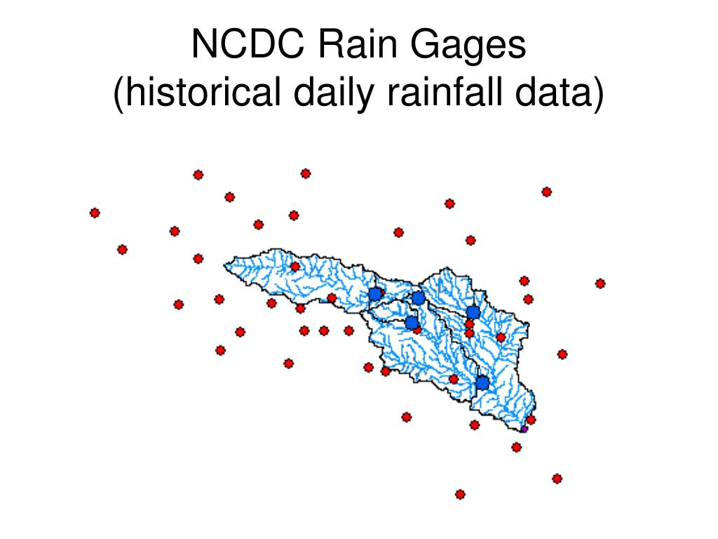 NCDC Rain Gages