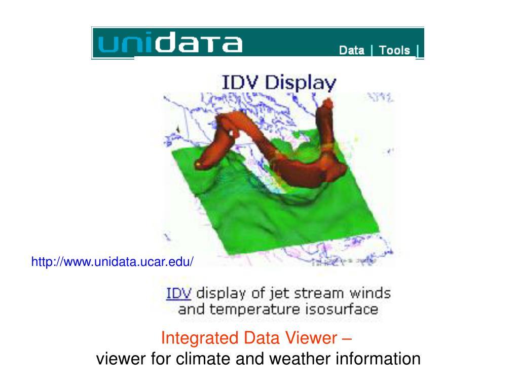 http://www.unidata.ucar.edu/