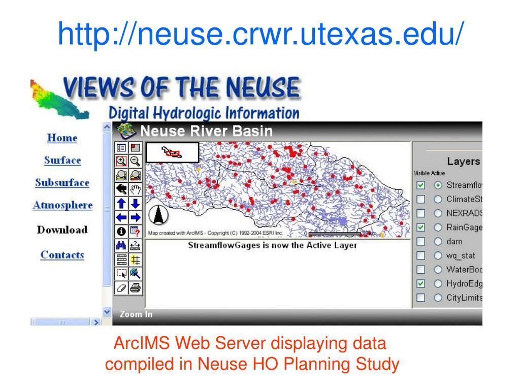 http://neuse.crwr.utexas.edu/