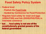 food safety policy system16