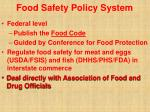 food safety policy system17