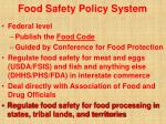 food safety policy system20
