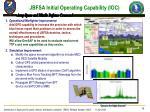 jbfsa initial operating capability ioc