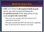 built in gains tax12