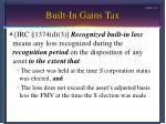 built in gains tax13