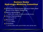eastern snake hydrologic modeling committee