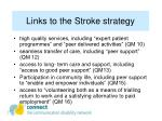 links to the stroke strategy