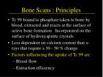 bone scans principles