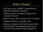 perthe s disease