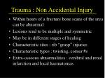 trauma non accidental injury