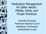 medication management for older adults pitfalls perils and proper practices