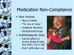 medication non compliance14