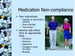 medication non compliance16