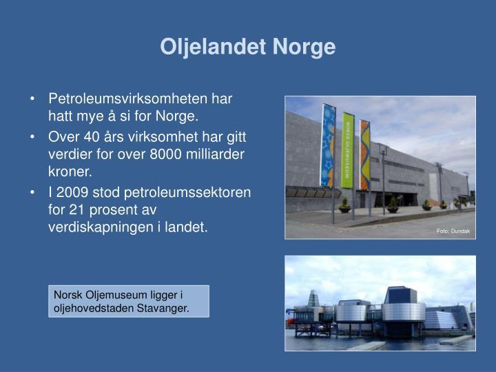 Oljelandet norge2