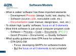 software models