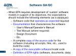 software qa qc12