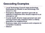 geocoding examples