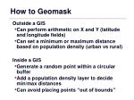 how to geomask