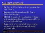 gallium protocol