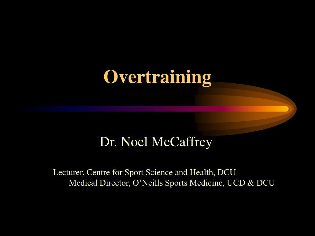 overtraining l.