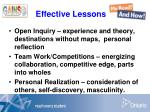 effective lessons68