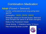 combination medication
